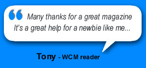 WCM digital magazine for window cleaners